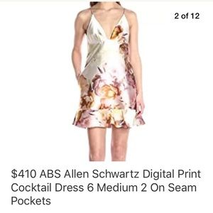 ABS Cocktail Dress